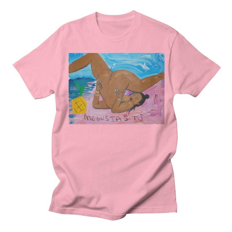 me gustas tu Men's Regular T-Shirt by monicakimgarza