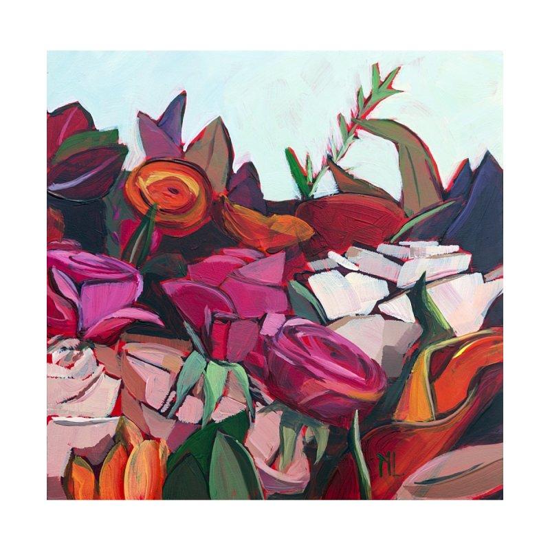 A Bunch of Flowers Art Mug by Mónica Linares Artist Shop