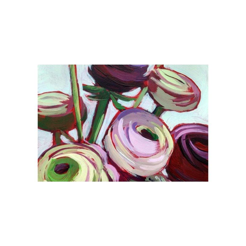 Violet Ranunculus Art Mug by Mónica Linares Artist Shop