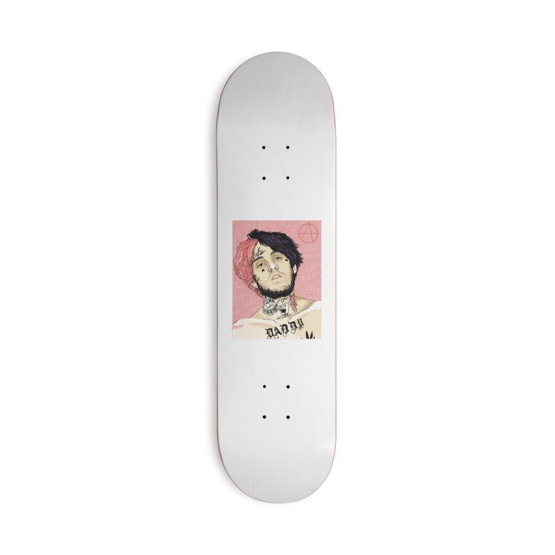 LIL PEEP Accessories Skateboard by monimiau16activity's Artist Shop