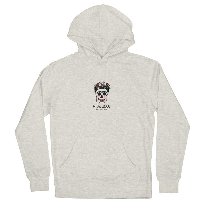 Frida Kahlo Logo Men's Pullover Hoody by moniquemodern's Artist Shop