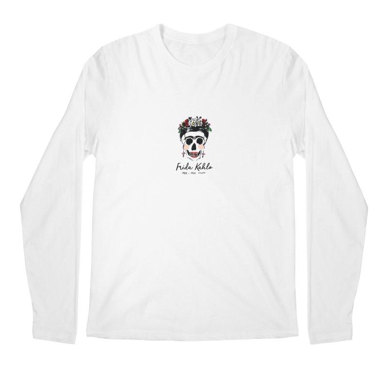 Frida Kahlo Logo Men's Longsleeve T-Shirt by moniquemodern's Artist Shop