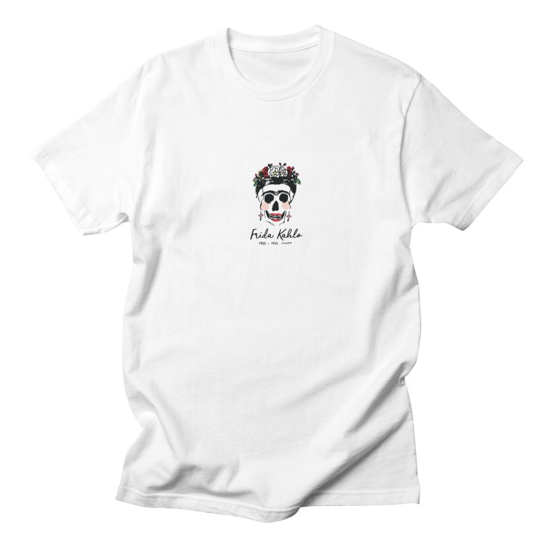 Frida Kahlo Logo Women's Regular Unisex T-Shirt by moniquemodern's Artist Shop
