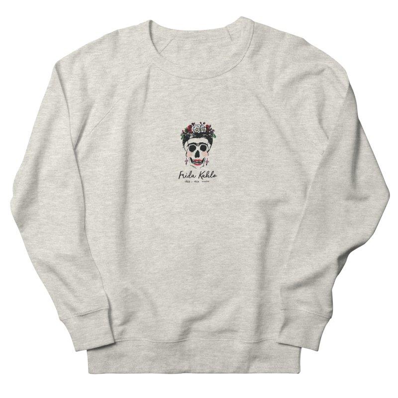 Frida Kahlo Logo Men's Sweatshirt by moniquemodern's Artist Shop