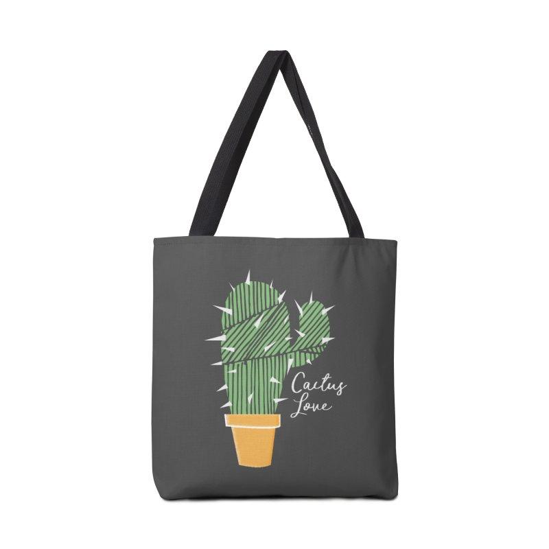 Cactus Love Accessories Bag by moniquemodern's Artist Shop