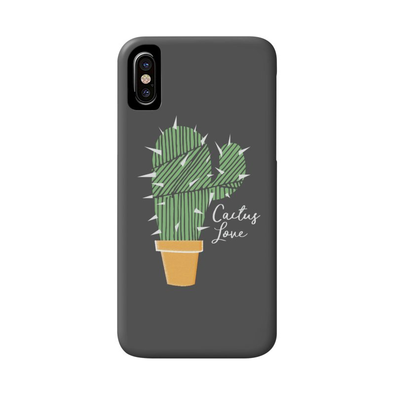 Cactus Love Accessories Phone Case by moniquemodern's Artist Shop