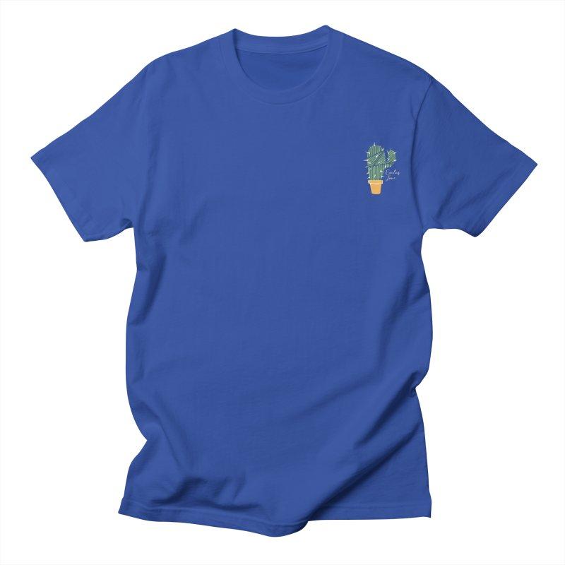 Cactus Love Men's T-shirt by moniquemodern's Artist Shop