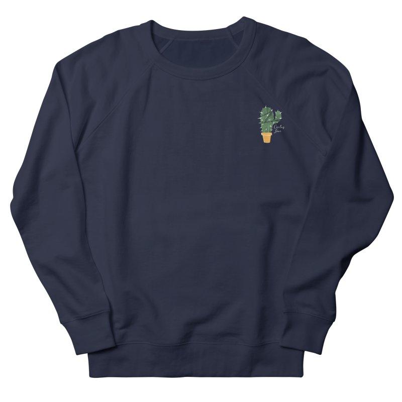 Cactus Love Men's Sweatshirt by moniquemodern's Artist Shop