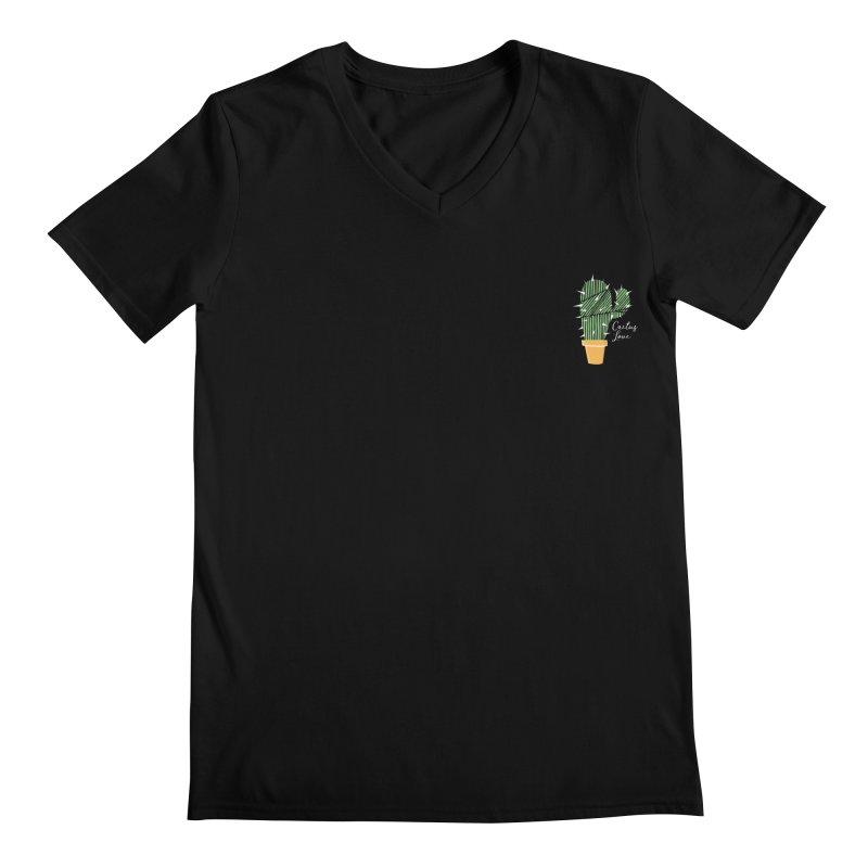 Cactus Love Men's V-Neck by moniquemodern's Artist Shop