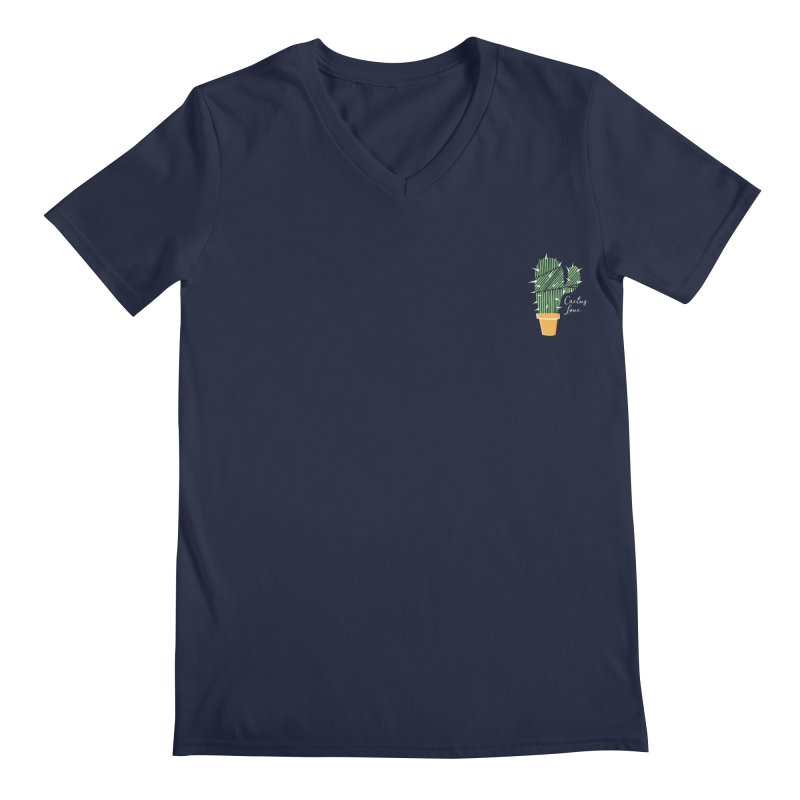 Cactus Love Men's V-Neck by moniquemodern's Artist Shop