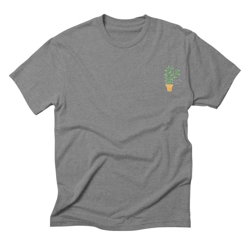 Cactus Love Men's Triblend T-shirt by moniquemodern's Artist Shop