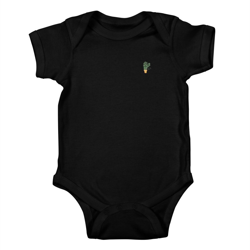 Cactus Love Kids Baby Bodysuit by moniquemodern's Artist Shop