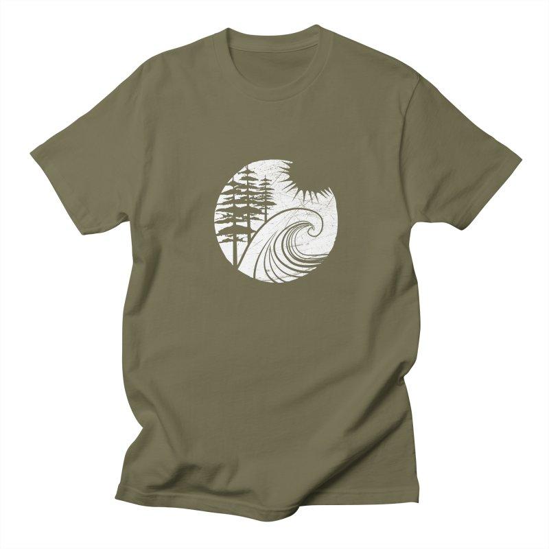 West Coast Wave Men's T-shirt by moniquemodern's Artist Shop