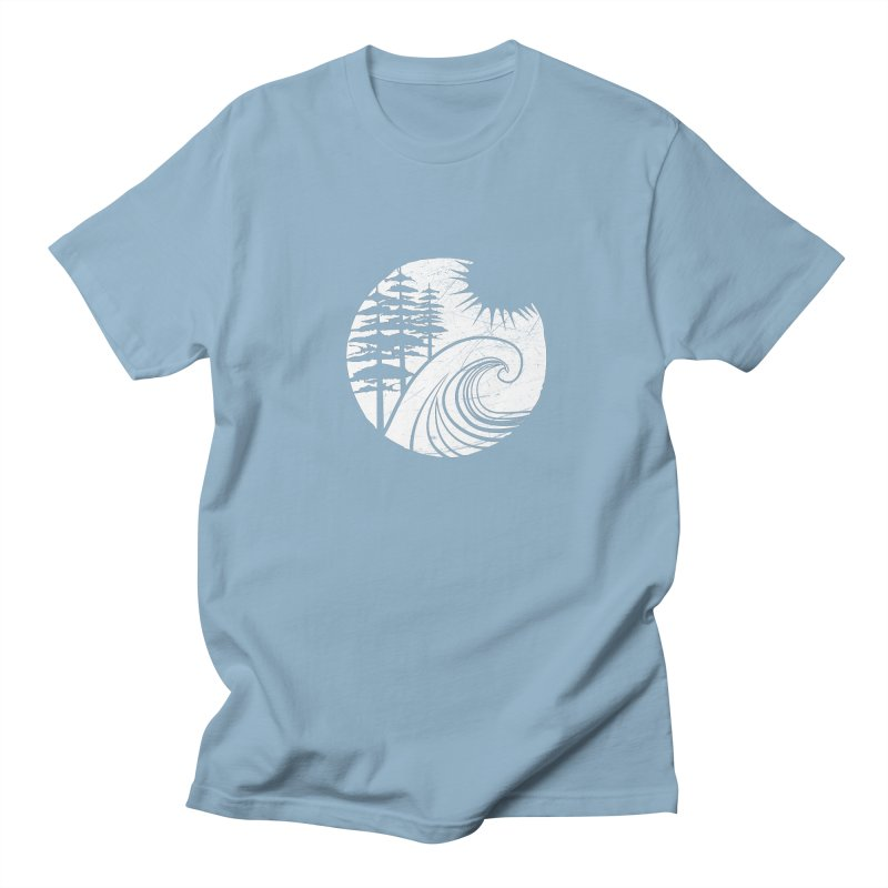 West Coast Wave Women's Unisex T-Shirt by moniquemodern's Artist Shop