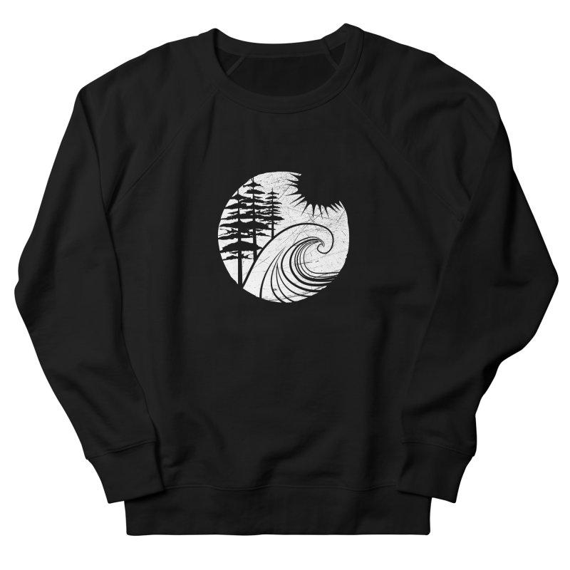 West Coast Wave Men's Sweatshirt by moniquemodern's Artist Shop