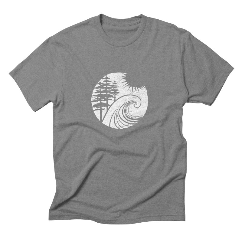 West Coast Wave Men's Triblend T-shirt by moniquemodern's Artist Shop