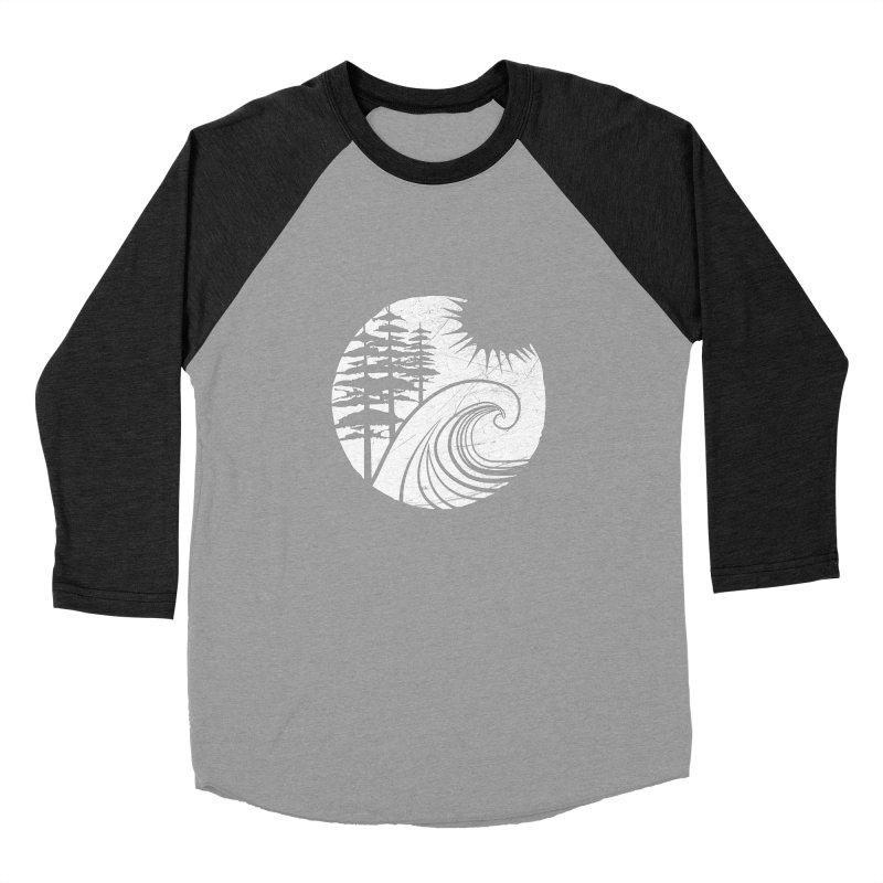 West Coast Wave Women's Baseball Triblend T-Shirt by moniquemodern's Artist Shop