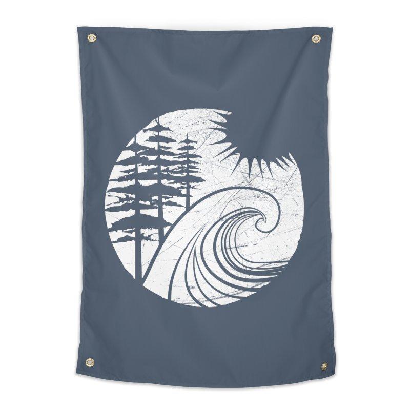 West Coast Wave Home Tapestry by moniquemodern's Artist Shop