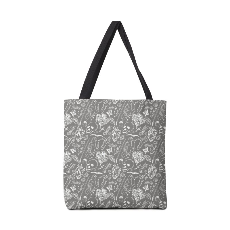 Frida Kahlo Pattern Accessories Bag by moniquemodern's Artist Shop