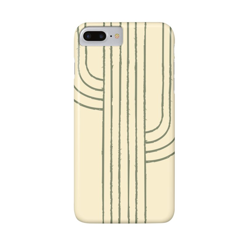 Cactus Lines Accessories Phone Case by moniquemodern's Artist Shop