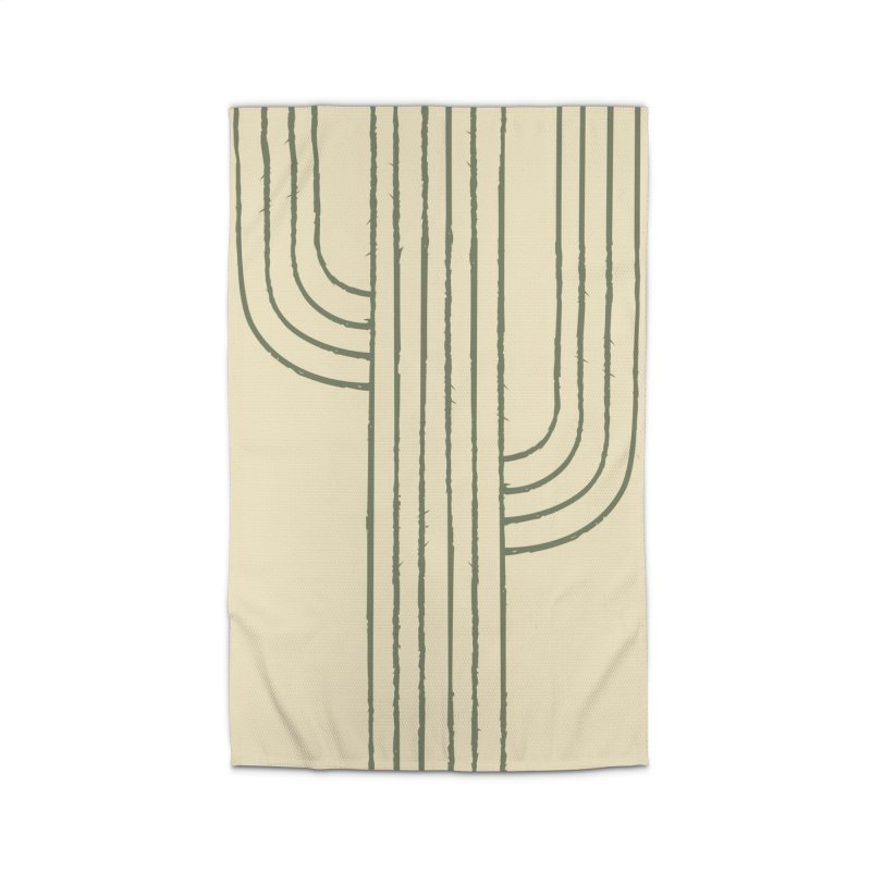 Cactus Lines Home Rug by moniquemodern's Artist Shop