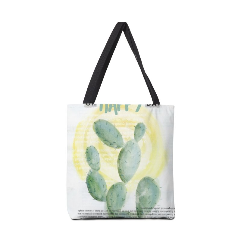 Oh Happy Day Accessories Bag by moniquemodern's Artist Shop