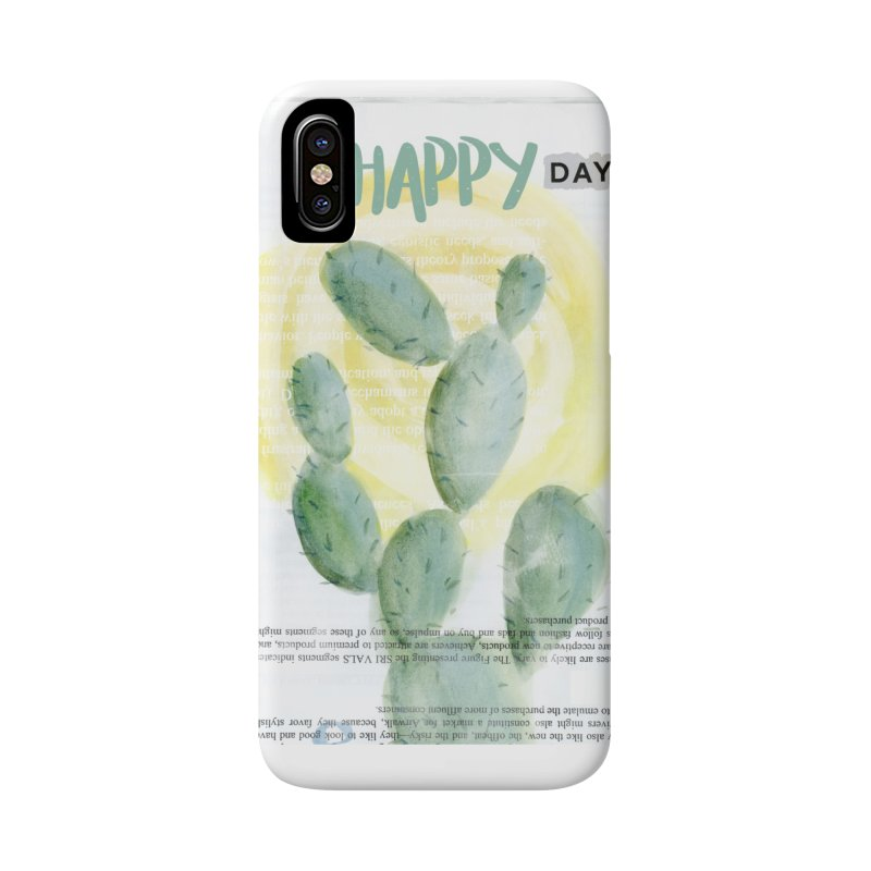 Oh Happy Day Accessories Phone Case by moniquemodern's Artist Shop