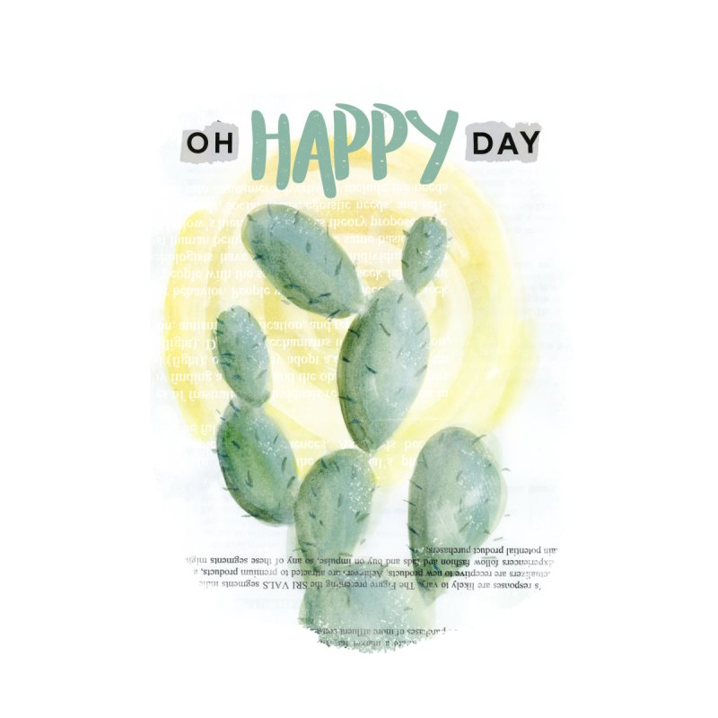 Oh Happy Day None  by moniquemodern's Artist Shop