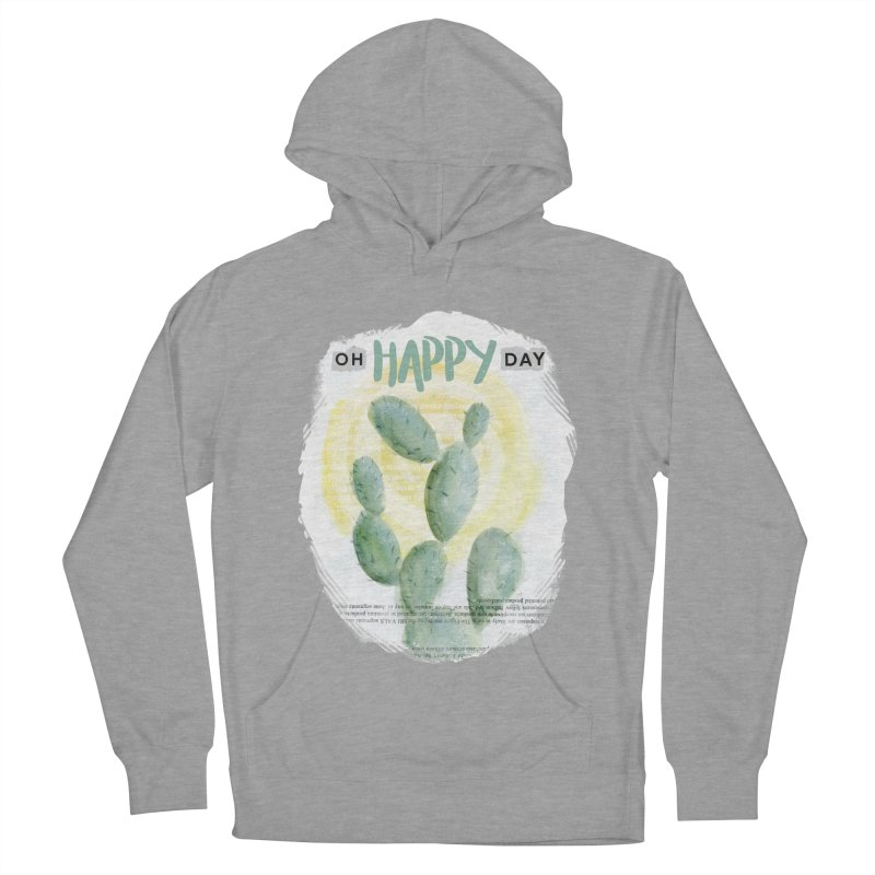 Oh Happy Day Men's Pullover Hoody by moniquemodern's Artist Shop