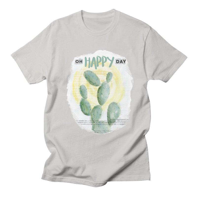 Oh Happy Day Women's Unisex T-Shirt by moniquemodern's Artist Shop