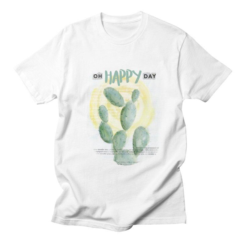 Oh Happy Day Men's T-shirt by moniquemodern's Artist Shop