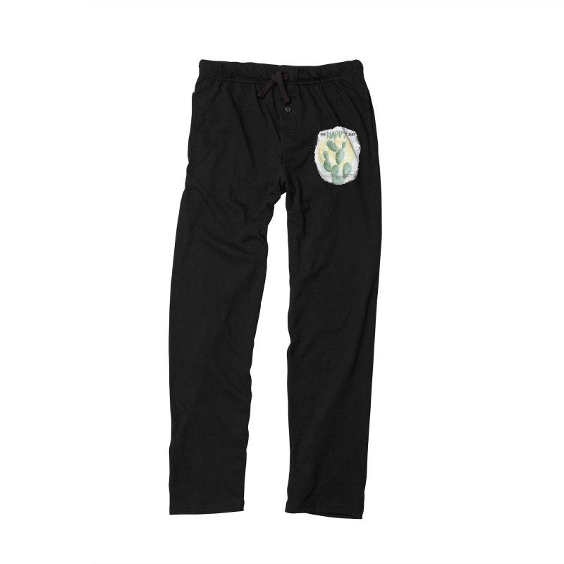 Oh Happy Day Men's Lounge Pants by moniquemodern's Artist Shop