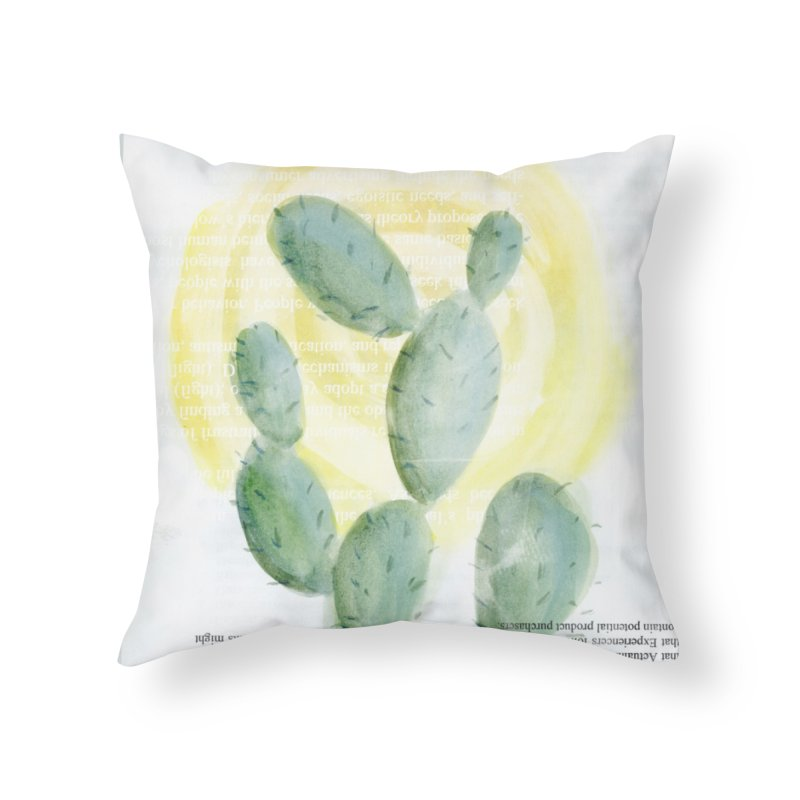 Oh Happy Day Home Throw Pillow by moniquemodern's Artist Shop