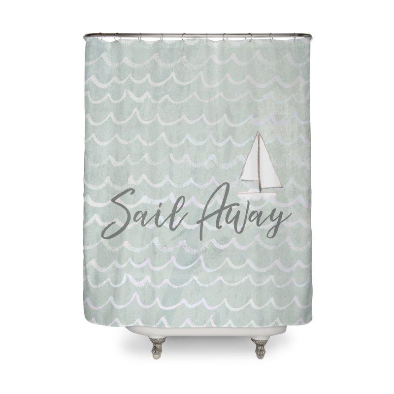 Kayla Home Shower Curtain by moniquemodern's Artist Shop