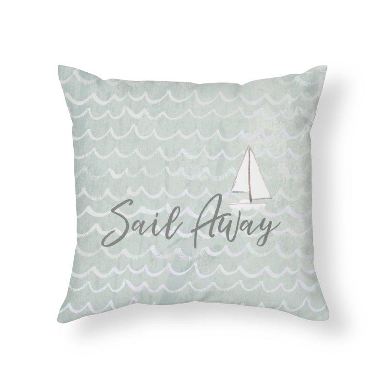 Kayla Home Throw Pillow by moniquemodern's Artist Shop
