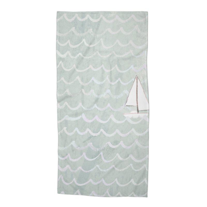 Sail the Sea Accessories Beach Towel by moniquemodern's Artist Shop
