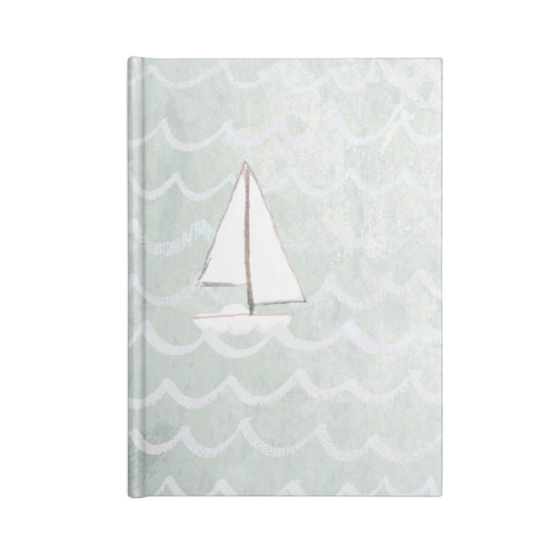Sail the Sea Accessories Notebook by moniquemodern's Artist Shop