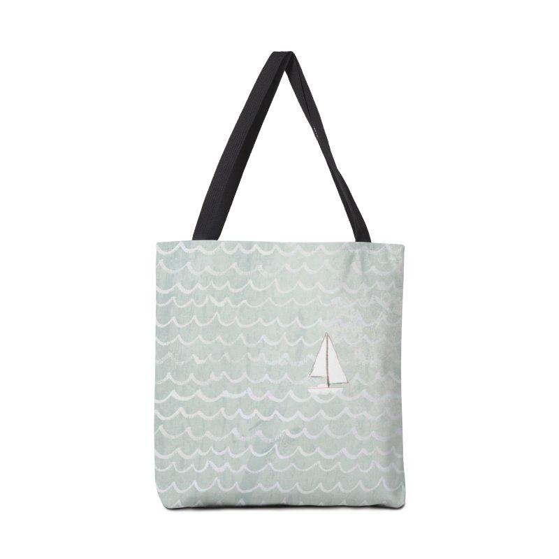 Sail the Sea Accessories Bag by moniquemodern's Artist Shop