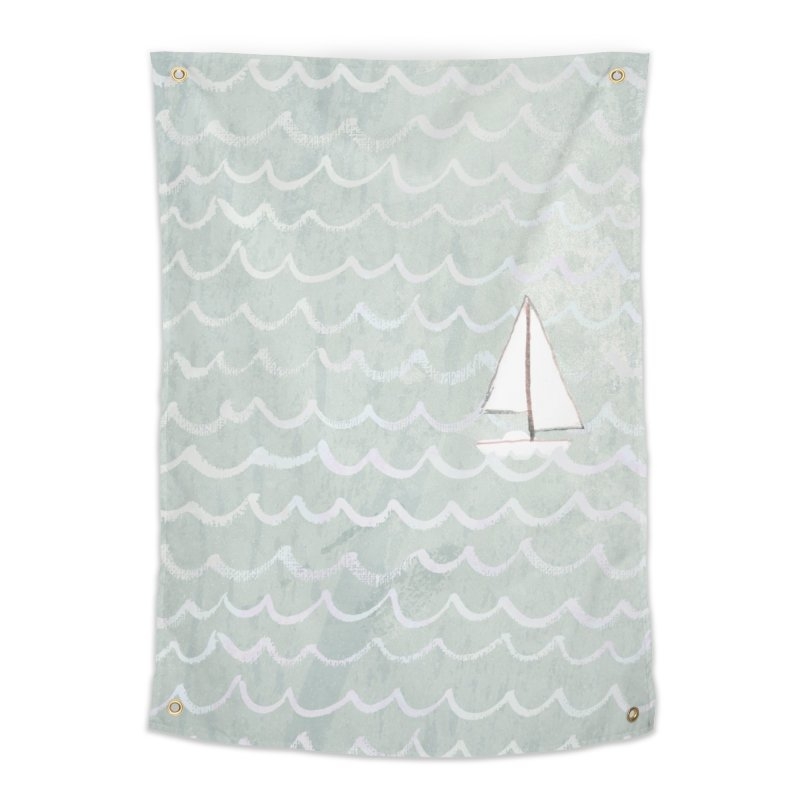 Sail the Sea Home Tapestry by moniquemodern's Artist Shop