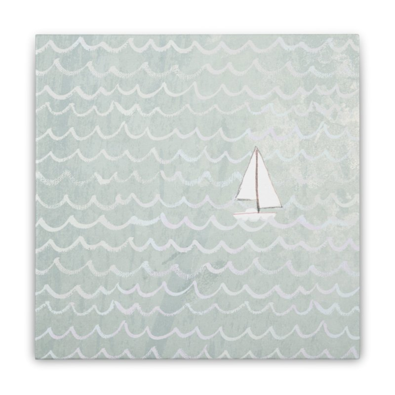 Sail the Sea Home Stretched Canvas by moniquemodern's Artist Shop