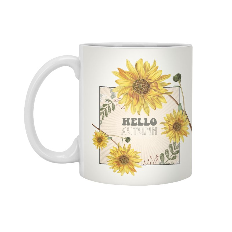 Hello Autumn Accessories Mug by moniquemodern's Artist Shop