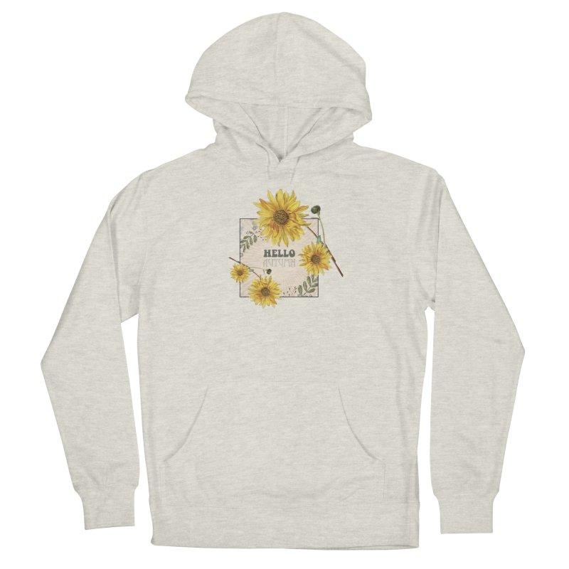 Hello Autumn Women's Pullover Hoody by moniquemodern's Artist Shop