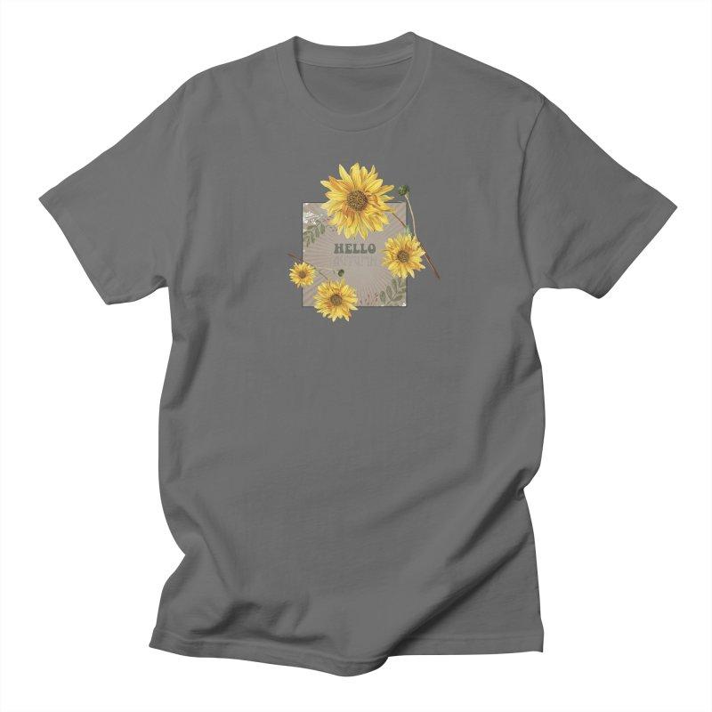 Hello Autumn Women's Regular Unisex T-Shirt by moniquemodern's Artist Shop