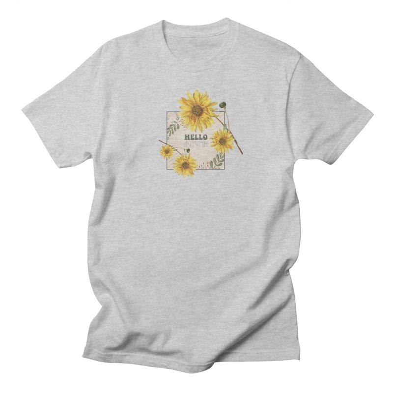 Hello Autumn Women's Unisex T-Shirt by moniquemodern's Artist Shop