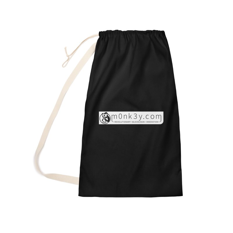 m0nk3y.com Accessories Laundry Bag Bag by The m0nk3y Merchandise Store
