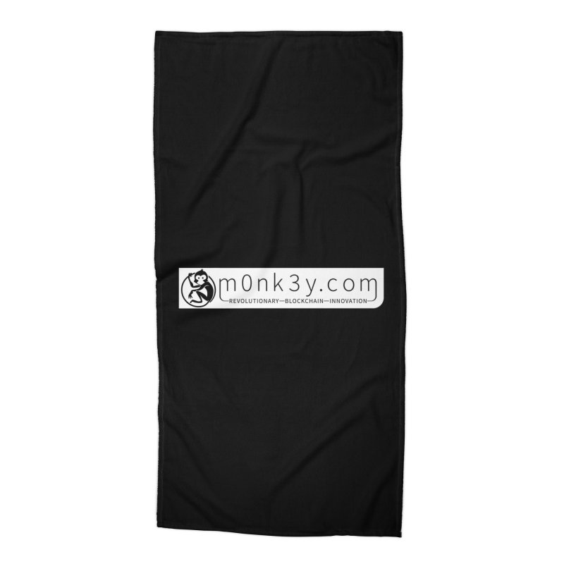 m0nk3y.com Accessories Beach Towel by The m0nk3y Merchandise Store
