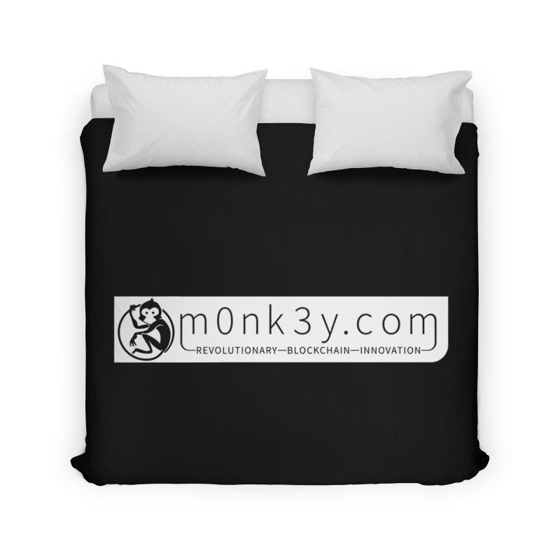 m0nk3y.com Home Duvet by The m0nk3y Merchandise Store