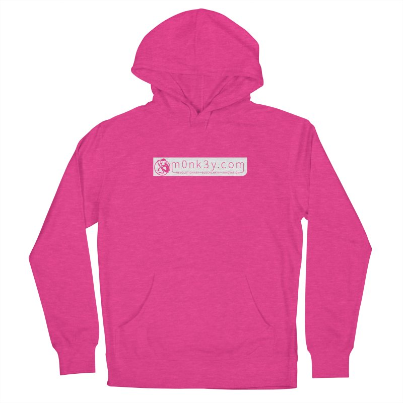 m0nk3y.com Men's French Terry Pullover Hoody by The m0nk3y Merchandise Store
