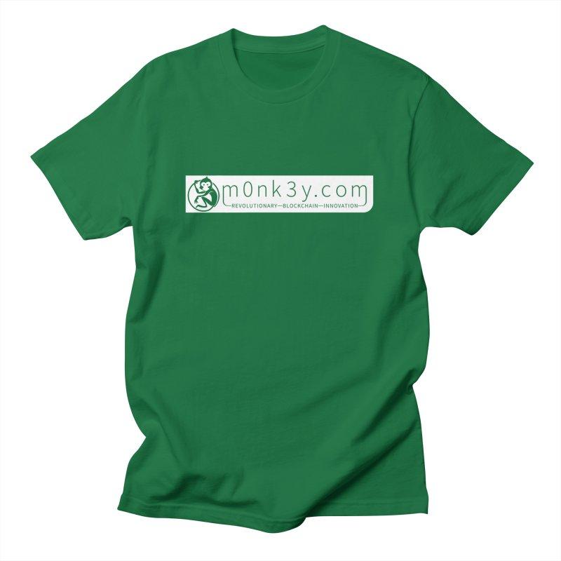 m0nk3y.com Women's Regular Unisex T-Shirt by The m0nk3y Merchandise Store