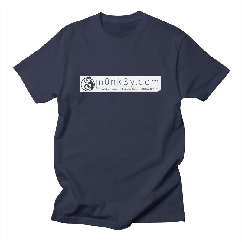 m0nk3y.com Men's Regular T-Shirt by The m0nk3y Merchandise Store